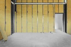 未完成的大厦内部 免版税库存图片