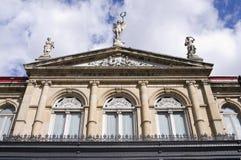 Национальный театр в Сан-Хосе Костарика Стоковая Фотография RF