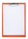Доска сзажимом для бумаги Стоковая Фотография RF
