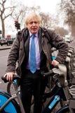 鲍里斯约翰逊-伦敦的市长 免版税库存图片