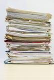 堆文件夹 库存照片