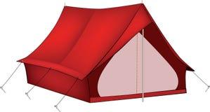 Красный шатер Стоковые Изображения