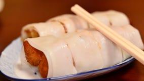 可口蒸汽饺子 免版税图库摄影