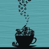 Чашка книги Стоковая Фотография RF