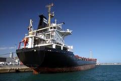 一般货物船 免版税库存图片
