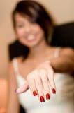 Показывать ногти Стоковые Фото