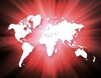 全球企业的最佳的互联网概念 免版税库存照片