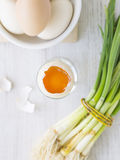 Οικολογικά αυγά. Στοκ Εικόνες