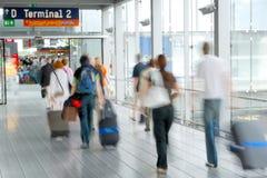 移动人员 免版税库存图片
