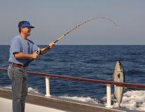 глубокое море рыболовства Стоковое фото RF