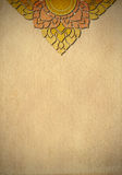 艺术古色古香的泰国传统条纹背景 库存图片