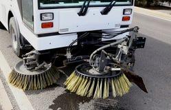 道路清扫工 免版税库存图片