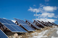Солнечная энергия Стоковые Изображения