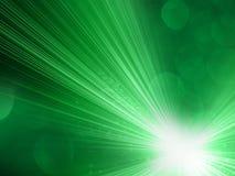 Зеленая абстрактная предпосылка Стоковые Изображения