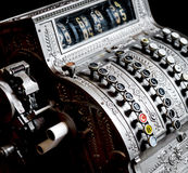 古色古香的收款机 免版税图库摄影
