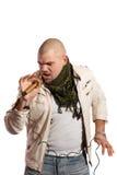 Τραγουδιστής βράχου Στοκ φωτογραφίες με δικαίωμα ελεύθερης χρήσης