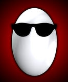 Δροσερό αυγό Στοκ Εικόνες