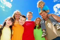 семья Стоковая Фотография