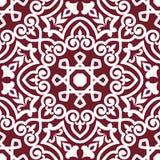 抽象阿拉伯或波斯无缝 免版税图库摄影