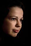 妇女面孔 免版税库存照片