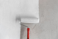 Красить стену. Стоковая Фотография RF