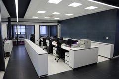 Самомоднейший интерьер офиса Стоковое Изображение RF