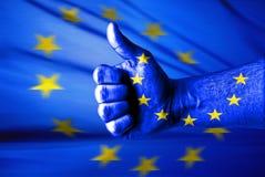 欧盟喜欢此 免版税库存图片