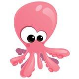 婴孩章鱼 免版税库存照片