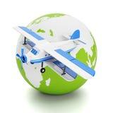 围绕世界旅行和旅游业。 库存图片
