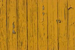 старый желтый цвет древесины поверхности планки Стоковые Фото