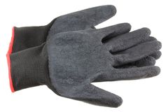 人的防护手套 免版税图库摄影