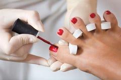 полировать ногтя Стоковое Фото