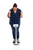 Успешная потеря веса Стоковые Изображения RF