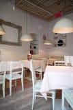 餐馆室内设计 图库摄影