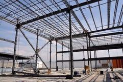 Стальная строительная площадка Стоковая Фотография