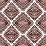 Абстрактная племенная картина Стоковая Фотография RF
