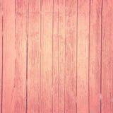 Винтажная розовая деревянная предпосылка Стоковая Фотография RF