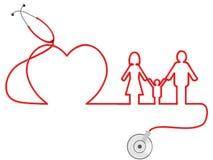 Οικογενειακή υγειονομική περίθαλψη Στοκ φωτογραφίες με δικαίωμα ελεύθερης χρήσης