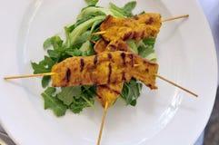Εύγευστα ασιατικά τρόφιμα κουζίνας Στοκ Εικόνα
