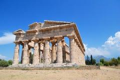 古希腊寺庙 免版税库存图片