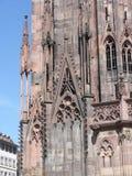 Καθεδρικός ναός του Στρασβούργου, Γαλλία Στοκ εικόνα με δικαίωμα ελεύθερης χρήσης