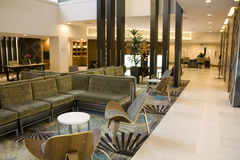 典雅的旅馆大厅 免版税图库摄影