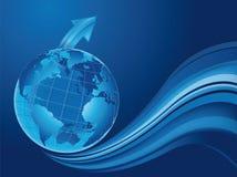 过程中的世界 免版税图库摄影