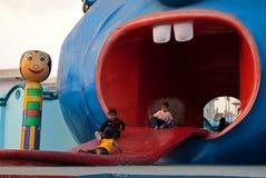Διασκέδαση παιδιών Στοκ εικόνα με δικαίωμα ελεύθερης χρήσης