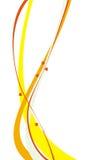 πορτοκαλιές λουρίδες κίτρινες Στοκ φωτογραφίες με δικαίωμα ελεύθερης χρήσης