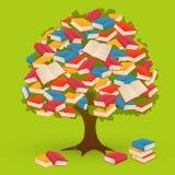 Дерево книги Стоковая Фотография