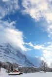 小家在瑞士 图库摄影