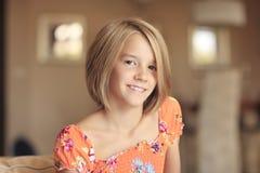 Милая девушка подростка Стоковые Изображения