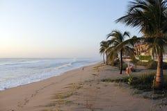 风雨如磐的海洋在海,佛罗里达的劳德代尔 图库摄影