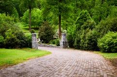 在格兰特公园的足迹 免版税库存图片